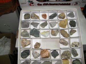 coleccion de rocas