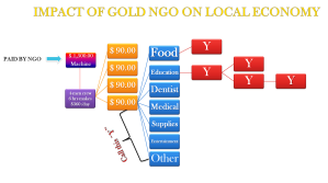 IMPACT OF GOLD NGO ON LOCAL ECONOMY