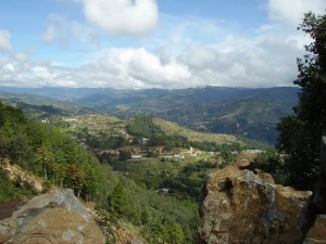 San Marcos - View from the road to Comitancillo